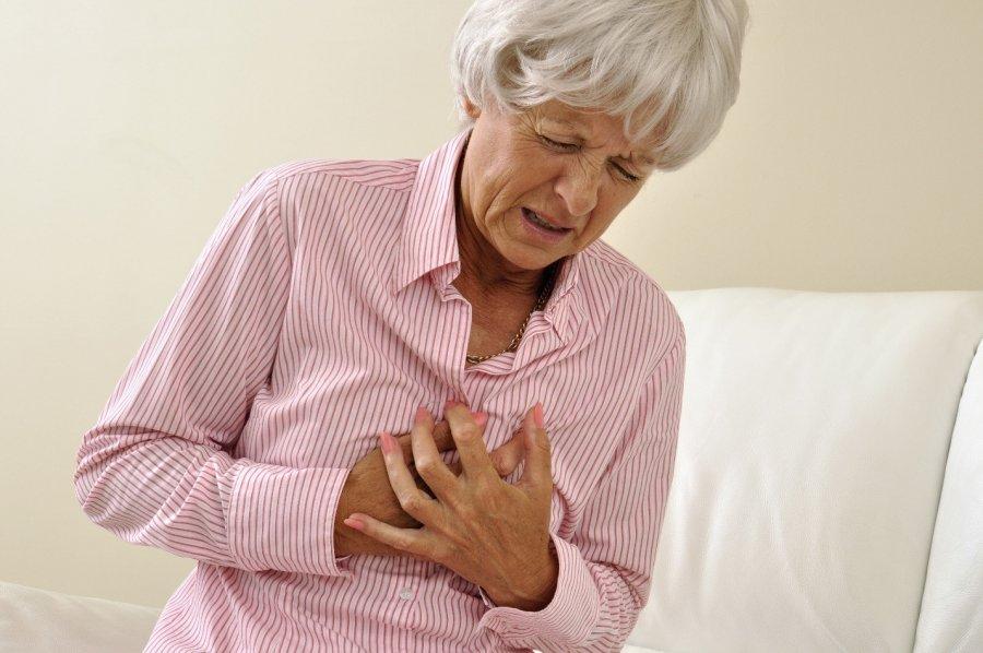 Боль в области сердца